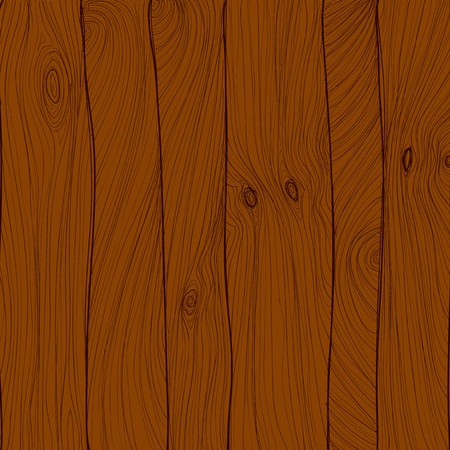 Wood texture, hand drawn Vector