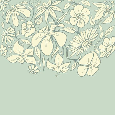 taper: Vintage floral border