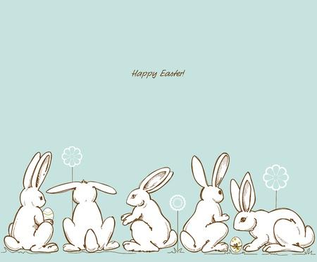 stylize: Pasen konijnen