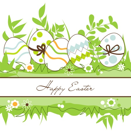 Vector Easter frame Stock Vector - 12955442