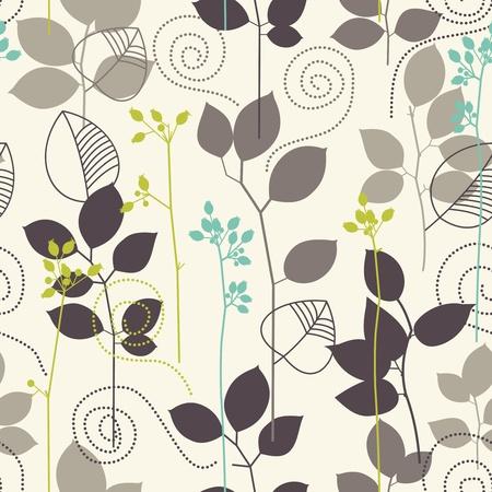 tile: Retro seamless background Illustration