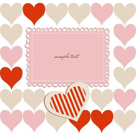 Love background Stock Vector - 13219467