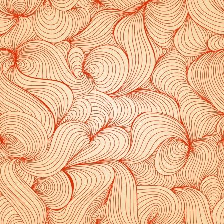 Retro waves texture (seamless pattern) Stock Vector - 14952509