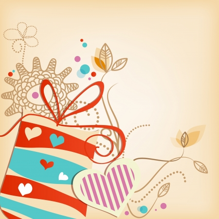 Gift vector background  Stock Vector - 15499588