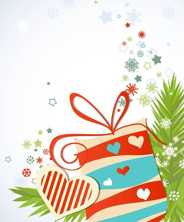 Christmas gift Stock Vector - 15437059