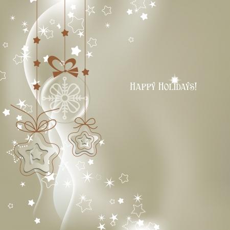 adorn: Silver Christmas background vector