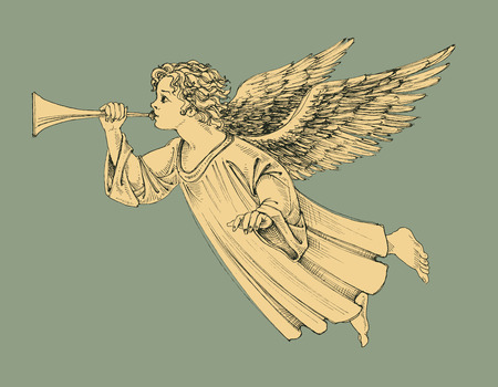 stile: Natale angelo Vettoriali