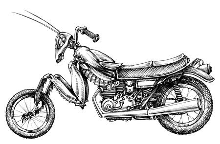 ファンタジー昆虫バイク