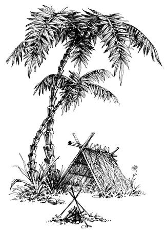 at leisure: Summer camp sketch