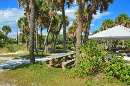 grande: Boca Grande picnic park Stock Photo
