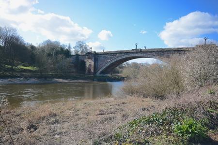 chester: Grosvenor bridge, Chester
