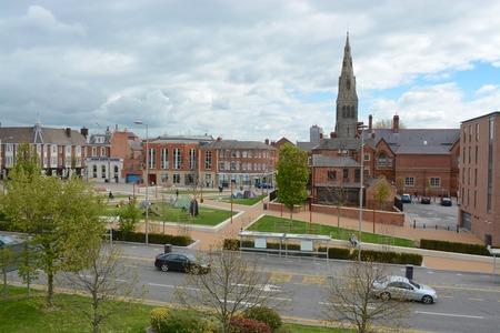 Leicester city centre Editorial