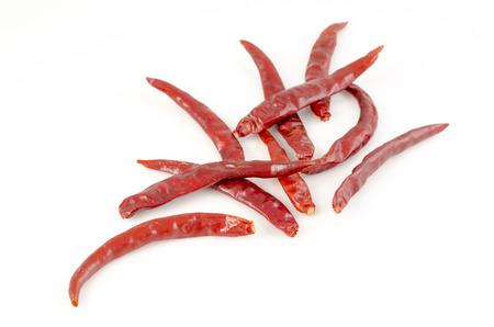 sundried: Sun-dried chili Stock Photo