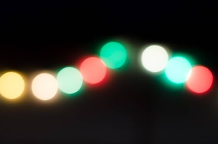 defocussed: Defocussed light background. Abstract circle bokeh. Stock Photo