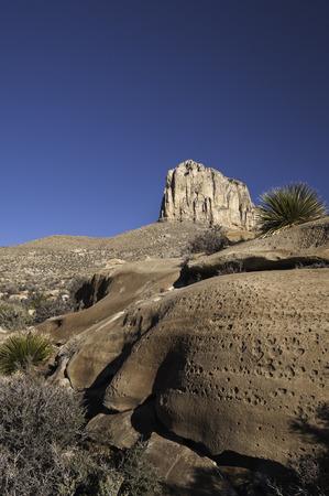 Parque Nacional Montañas de Guadalupe Foto de archivo - 34917513