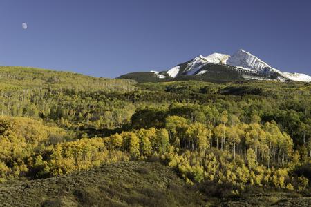 moon chair: McClure Pass Colorado in Autumn