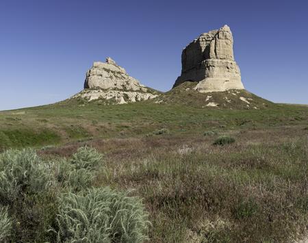nebraska: Courthouse and Jail Rock Nebraska