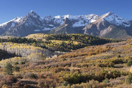 Mount Sneffels Mountain Range located in Southwestern Colorado.