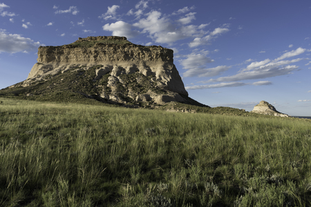 West and East Pawnee Butte on the Pawnee National Grasslands in Northeastern Colorado.