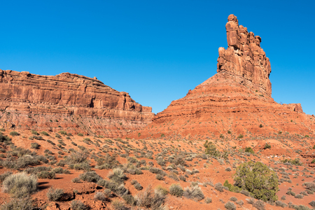 Valley of the Gods is located in southern Utah  near Bears Ears National Monument.
