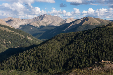 La Plata Peak  located in San Isabel National forest and a popular destination for hikers and climbers.