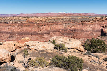 Canyonlands National Park, view from the Slickrock Foot Trail.