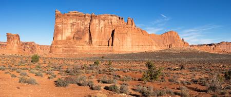 Towers of Babel in Arches National Park Utah