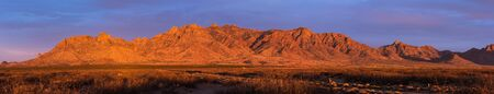 The Florida Mountain Range is twelve miles long going north to south. Located north of the Chihuahuan Desert in southwestern New Mexico