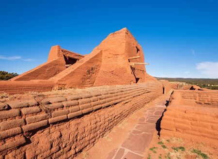 Pecos National Historical Park, located within New Mexico on the Old Santa Fe Trail.
