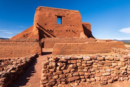 Parc historique national de Pecos, situé au Nouveau-Mexique sur le sentier Old Santa Fe.