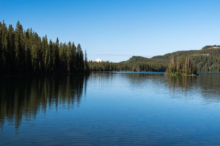 Grand Mesa National Forest Colorado has over 300 lakes.  Island Lake is one of the more popular destinations on the Grand Mesa.
