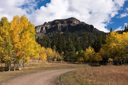 Cimarrona Campground is north of Pagosa Springs Colorado.  Hiking trails take off from the campground into Weminuche Wilderness.