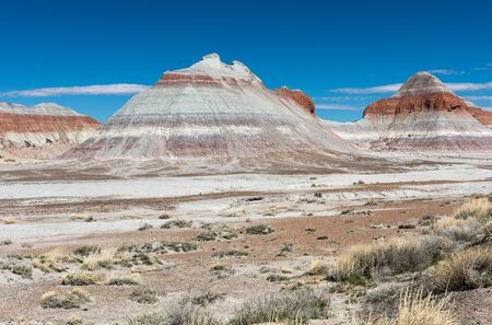 The Teepees formation located within Petrified Forest National Park, Arizona.