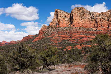 Gibraltar and Lee Mountain in Coconino National Forest, Arizona.