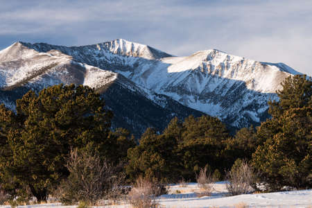 Mt. Antero at 14,276 feet is the 10th highest peak in Colorado. Mount Antero is named for Native American Chief Antero leader of the Uintah band of the Ute nation.