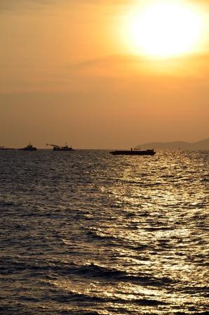 Sea sunset Stock Photo - 12680745