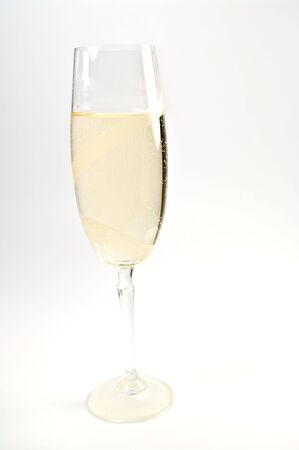 Glass with sparkling wine Stock Photo - 6901348