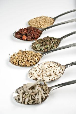 Herbal teas Stock Photo