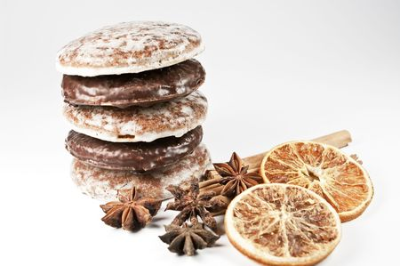 Gingerbread and spice Stock Photo - 7976153