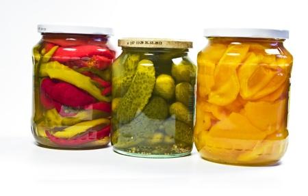 confect: Occhiali con verdure in salamoia