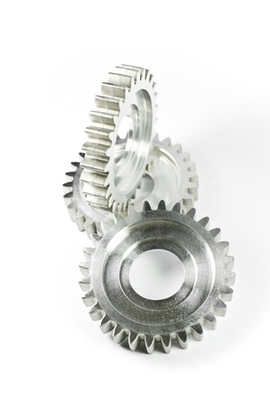 Three gear-wheels Stock Photo - 9704929