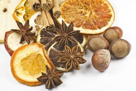 frutos secos: Especias y frutos secos