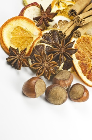 frutos secos: Frutos secos y especias