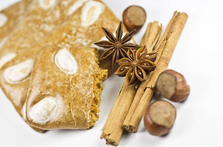 Gingerbread cookies and spice Stock Photo - 11134377