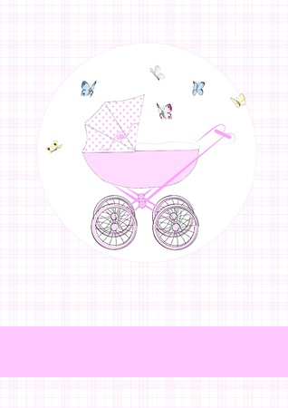 happening: Baby buggy in pink