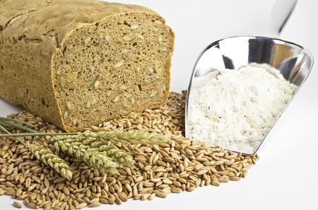 agrar: Bread, flour and grain
