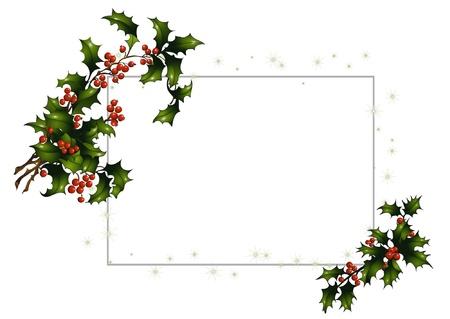 Greeting card for christmas Illustration