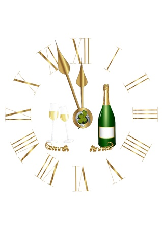 Happy new year II Stock Vector - 17088187