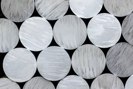 aluminum rod: Aluminum round rod abstract
