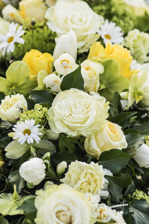 yelllow: Bouquet in yellow